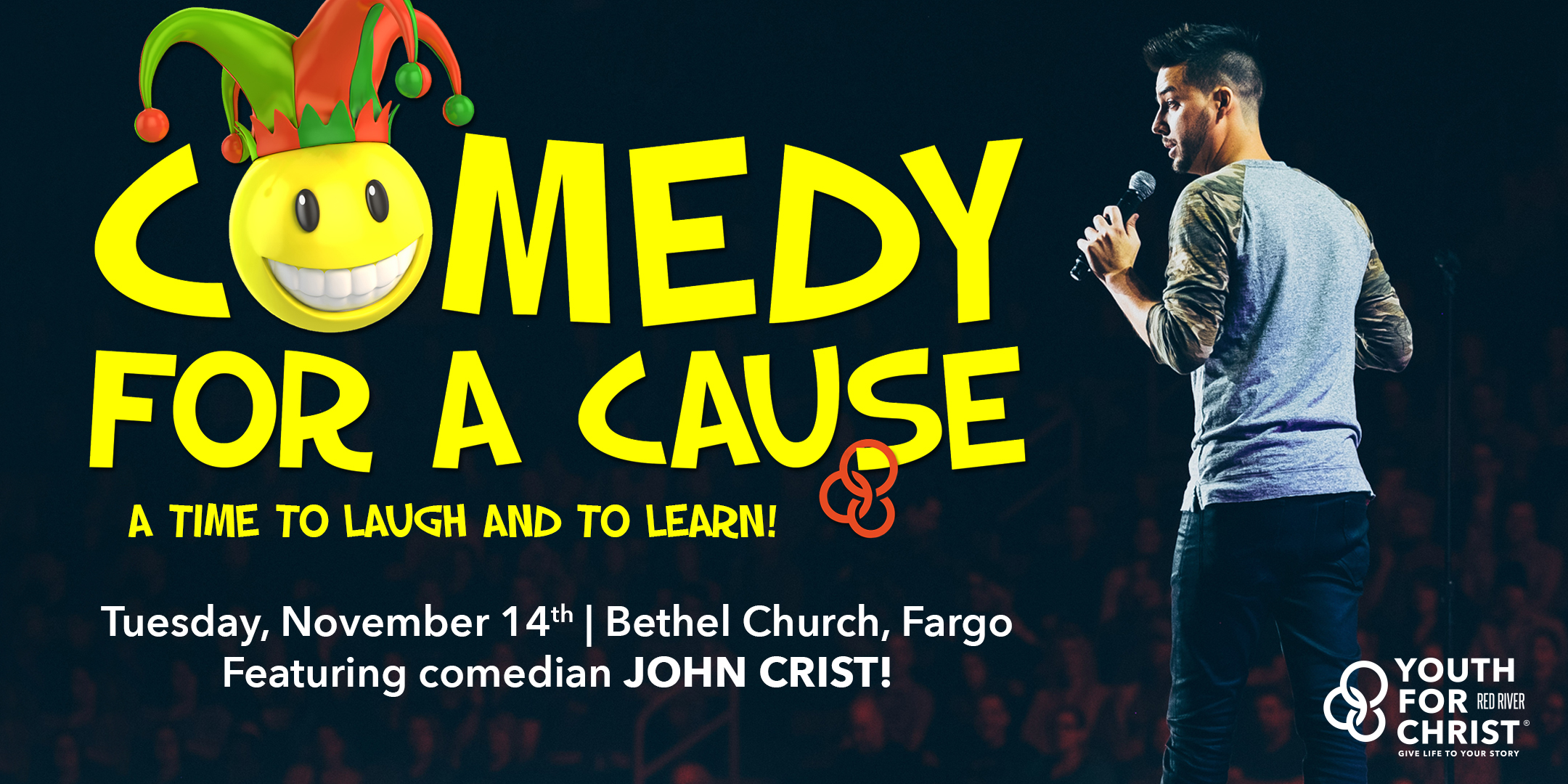 comedy for a cause graphic