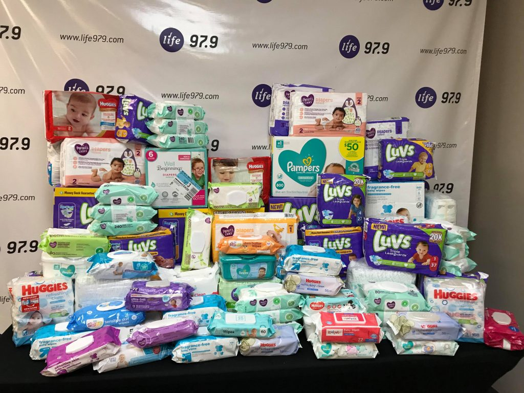 Churches United Diaper Collections 2019